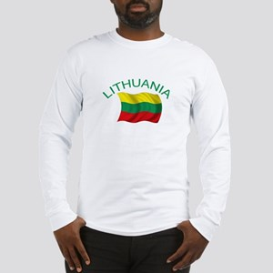 Lithuanian Flag Long Sleeve T-Shirt