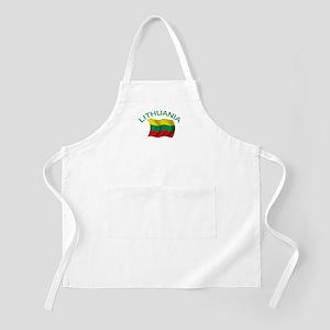 Lithuanian Flag BBQ Apron