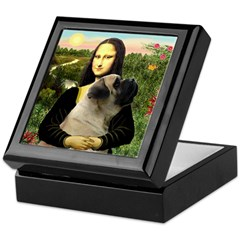 Mona /Bullmastiff Keepsake Box