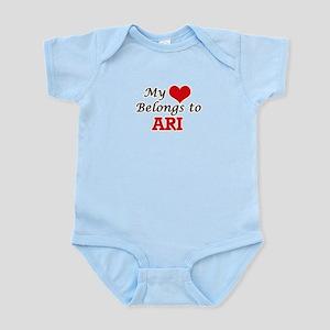 My heart belongs to Ari Body Suit