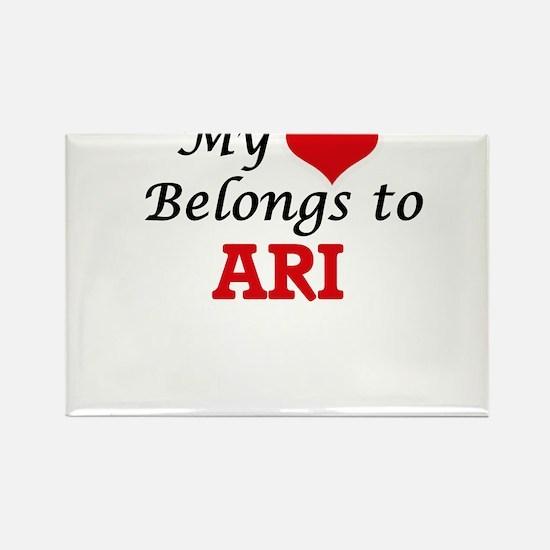 My heart belongs to Ari Magnets