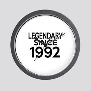 Legendary Since 1992 Wall Clock