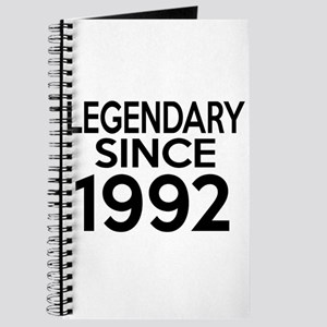Legendary Since 1992 Journal