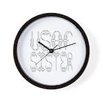 USAF Sister Wall Clock