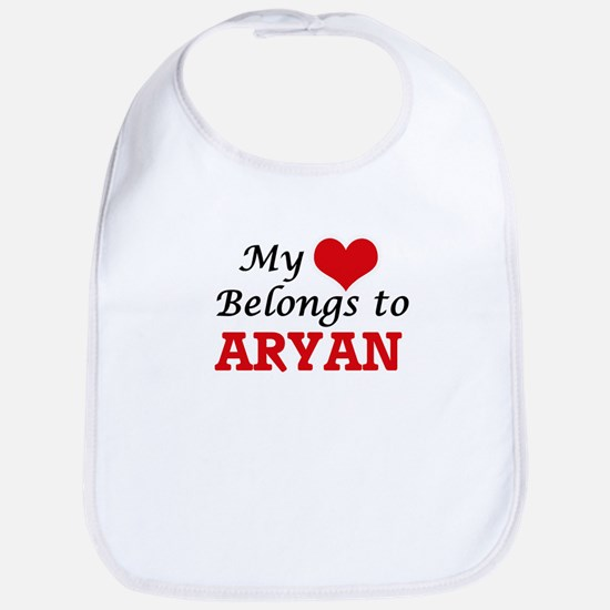 My heart belongs to Aryan Bib