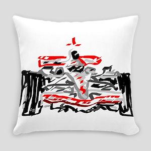 Race car Everyday Pillow