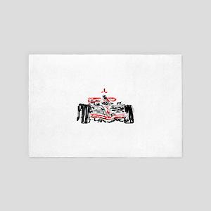 Race car 4' x 6' Rug