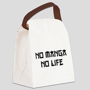 NO MANGA NO LIFE Canvas Lunch Bag