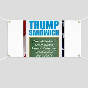 Trump Sandwich Banner