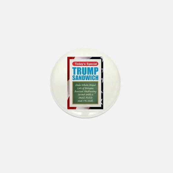Trump Sandwich Mini Button