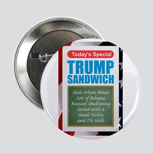 """Trump Sandwich 2.25"""" Button"""