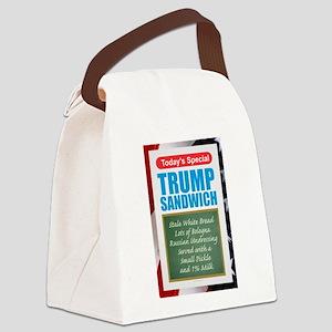 Trump Sandwich Canvas Lunch Bag