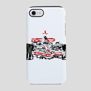 Race car iPhone 8/7 Tough Case