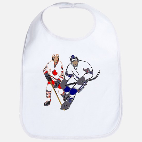 Ice Hockey Baby Bib