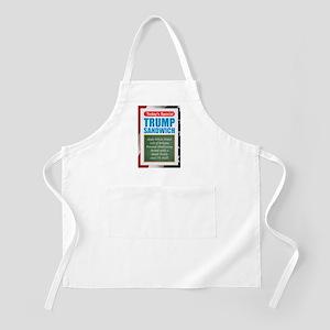 Trump Sandwich Apron