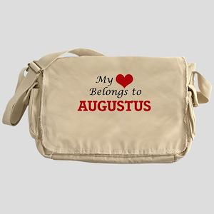 My heart belongs to Augustus Messenger Bag