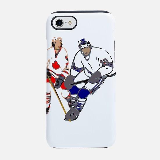 Ice Hockey iPhone 8/7 Tough Case