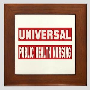 Universal Public health nursing Framed Tile
