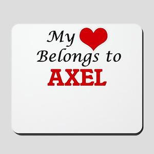 My heart belongs to Axel Mousepad