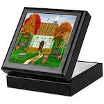 Autumn Cottage Keepsake Box