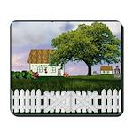 Rural Cottage Scene Mousepad