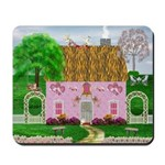Valentine's Day Cottage Mousepad