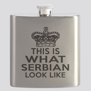 I Am Serbian Flask