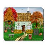 Autumn Cottage Mousepad