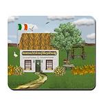 St. Patrick's Day Cottage (Gaelic) Mousepad