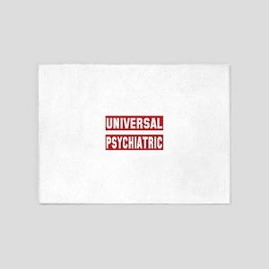 Universal Psychiatric 5'x7'Area Rug