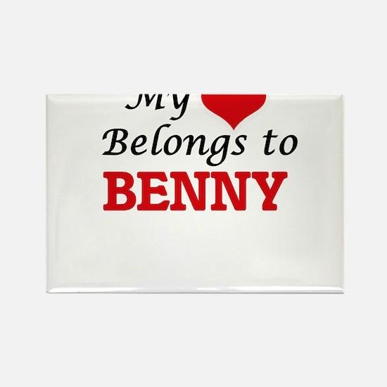 My heart belongs to Benny Magnets