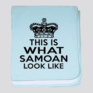 I Am Samoan baby blanket