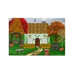 Autumn Cottage Rectangle Magnets (10 pack)
