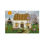 Sunshine Cottage Rectangle Magnets (10 pack)
