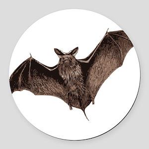 Bat Round Car Magnet
