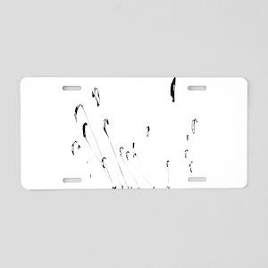 Kitesurfing Aluminum License Plate