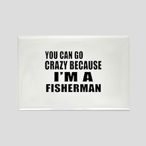 I Am Fisherman Rectangle Magnet