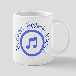 Broken Heart Blues Mugs