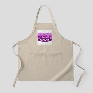 Grandma Tech Support BBQ Apron