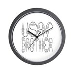 USAF Brother Wall Clock