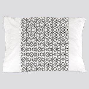 seamless pattern,adult colouring,patte Pillow Case