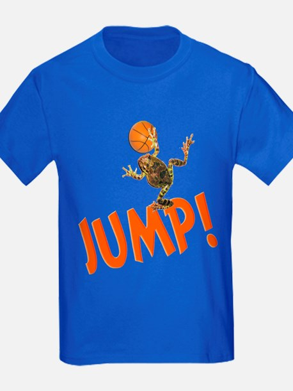 Basketball Jump Frog T