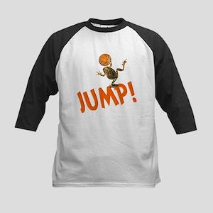 Basketball Jump Frog Kids Baseball Jersey