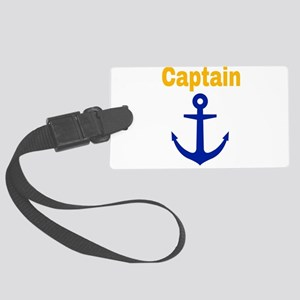 Captain Large Luggage Tag