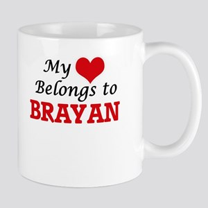 My heart belongs to Brayan Mugs