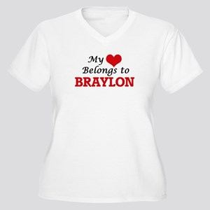 My heart belongs to Braylon Plus Size T-Shirt