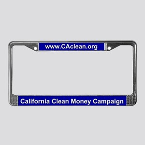 CCMC License Plate Frame (Blue BG)