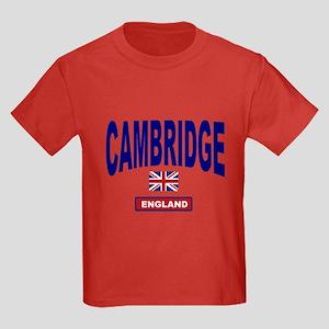 Cambridge England Kids Dark T-Shirt