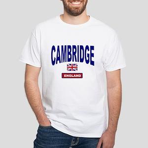 Cambridge England White T-Shirt