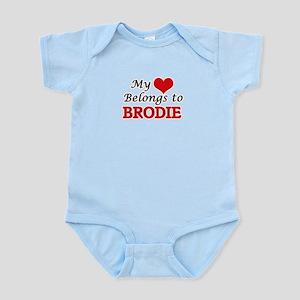 My heart belongs to Brodie Body Suit
